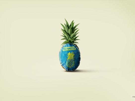 Watts Print Ad -  Pineapple