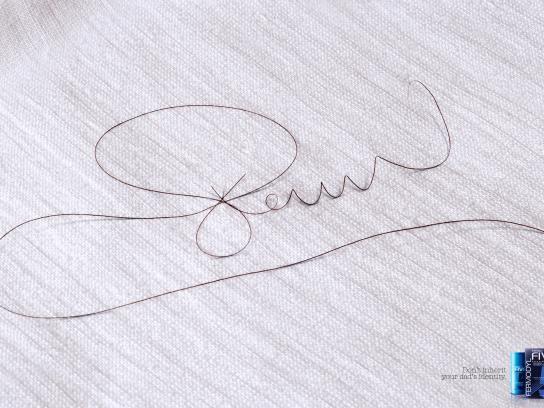Fermofive Print Ad -  Wavy Signature