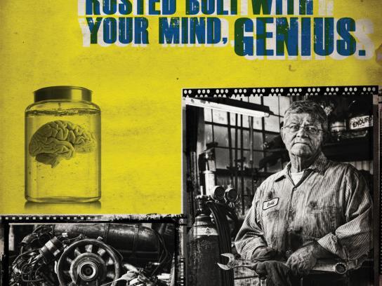 WD-40 Print Ad -  Genius