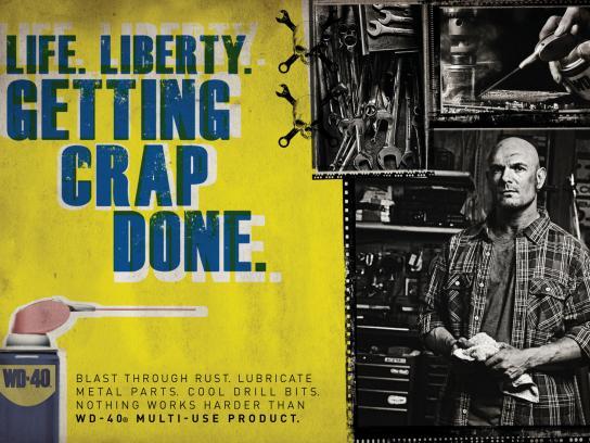 WD-40 Print Ad -  Liberty