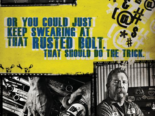 WD-40 Print Ad -  Swearing