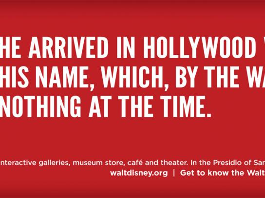 The Walt Disney Family Museum Print Ad -  Hollywood