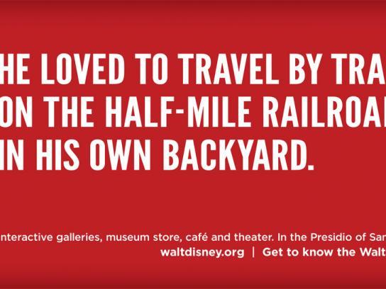 The Walt Disney Family Museum Print Ad -  LillyBelle