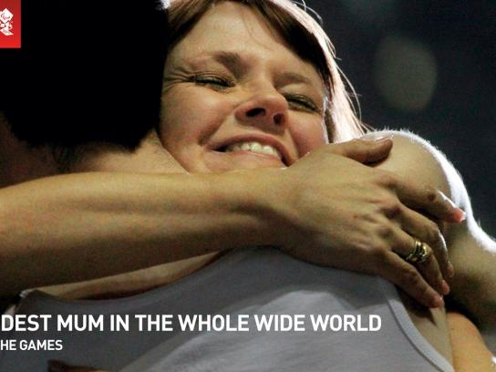 McDonald's Outdoor Ad -  We All Make the Games, The Proudest Mum In The Whole Wide World