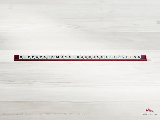Webber Wentzel Print Ad -  Scrabble