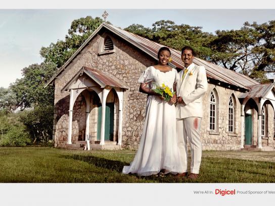Digicel Print Ad -  Wedding