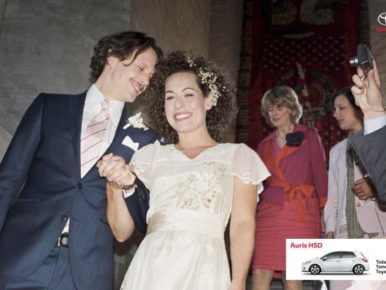 Toyota Print Ad -  Wedding