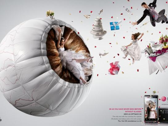 LG Print Ad -  Wedding