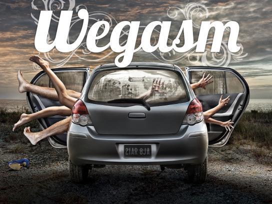 Durex Print Ad -  Wegasm Car