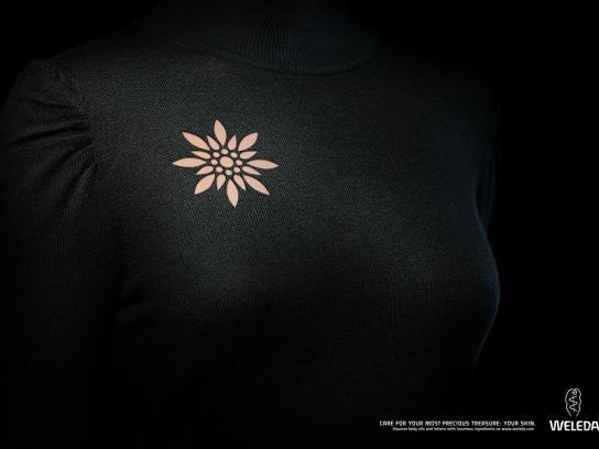Weleda Print Ad -  Skin Jewelry, Brooch