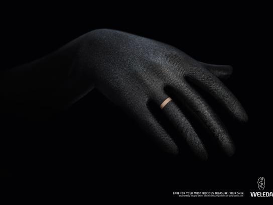 Weleda Print Ad -  Skin Jewelry, Ring