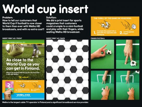 Welho Direct Ad -  World cup insert