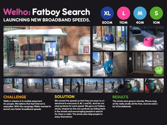Welho Ambient Ad -  Fatboy search