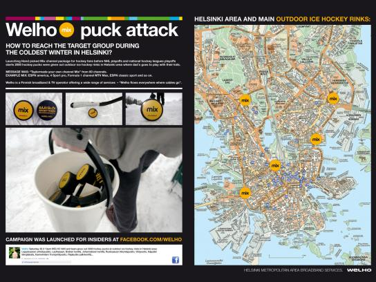 Welho Ambient Ad -  Puck attack