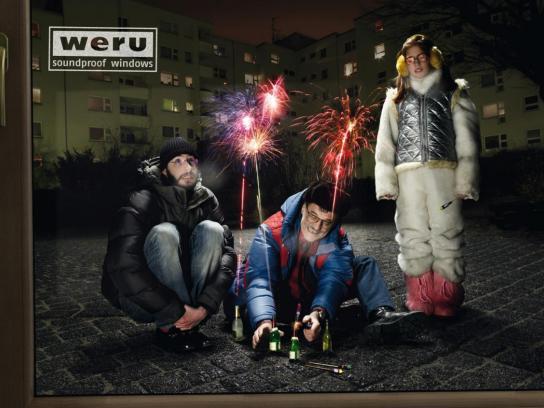 Weru Print Ad -  Fireworks