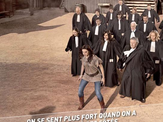 Test Achats Print Ad -  Wild west