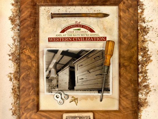 Wood Revival Print Ad -  Outlast