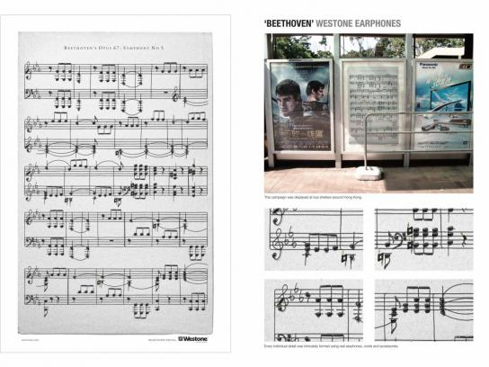 Westone Outdoor Ad -  Beethoven