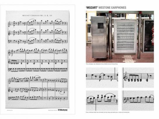 Westone Outdoor Ad -  Mozart