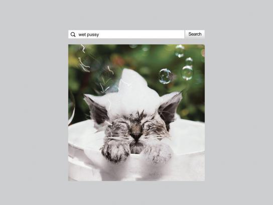 Taringa! Print Ad -  Wet pussy