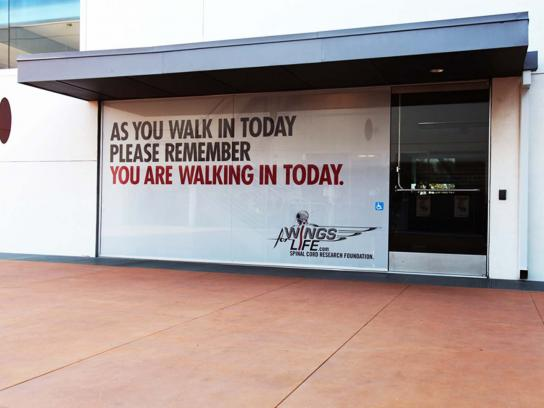 Wings for Life Outdoor Ad -  Remember