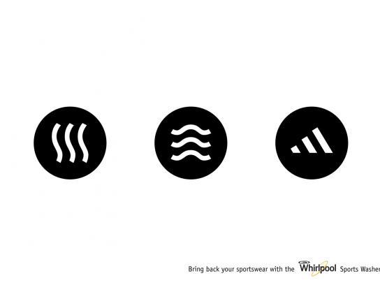 Whirlpool Print Ad -  Adidas