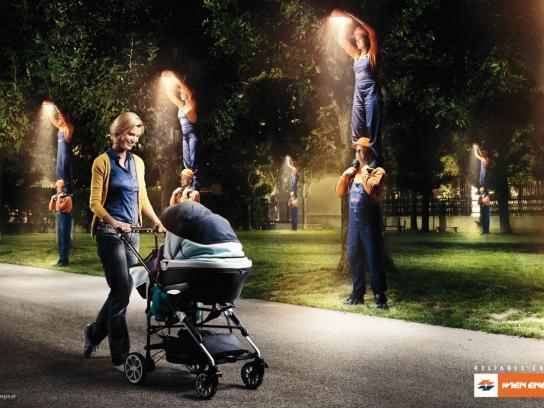 Wien Energie Print Ad -  Park