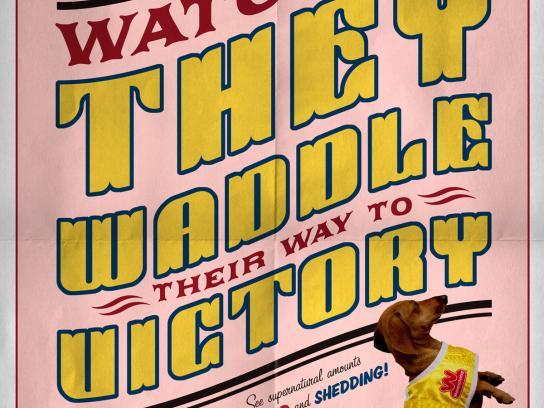Wienerschnitzel Outdoor Ad -  Waddle to Victory