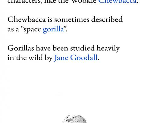 Wikipedia Print Ad -  Jane