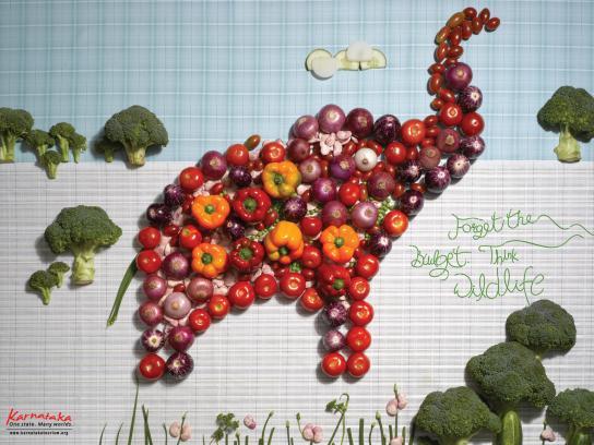 Karnataka Print Ad -  Wildlife