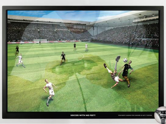 Wilson Print Ad -  Soccer