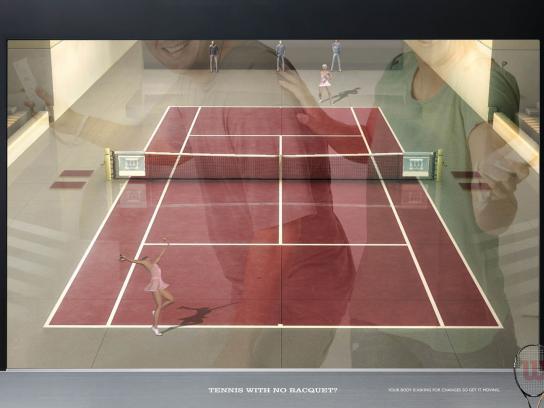 Wilson Print Ad -  Tennis