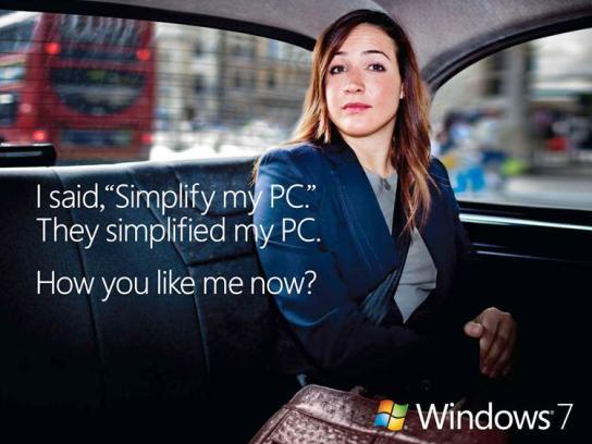 Microsoft Print Ad -  Simplified