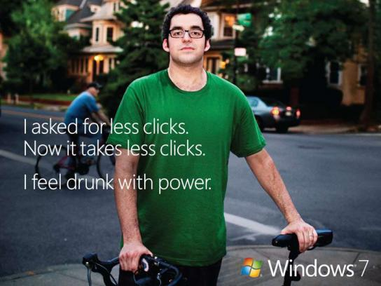 Microsoft Print Ad -  Clicks