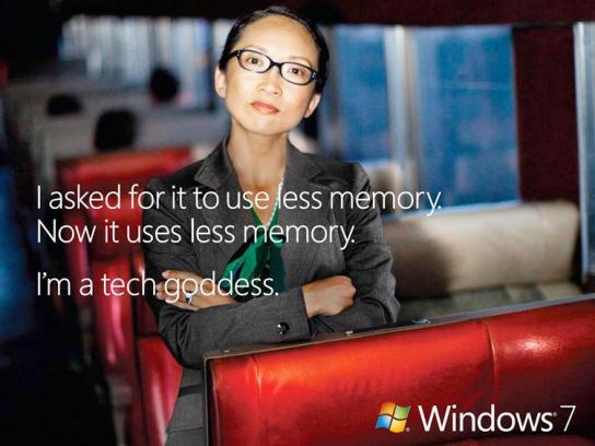 Microsoft Print Ad -  Memory