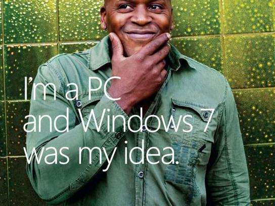 Microsoft Print Ad -  My idea, 2