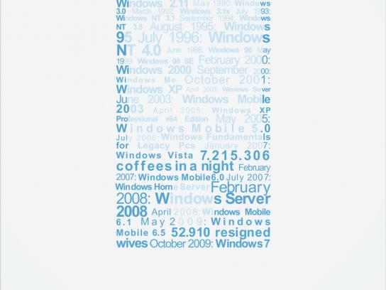 Microsoft Print Ad -  Now