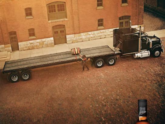 Wiser's Outdoor Ad -  Truck
