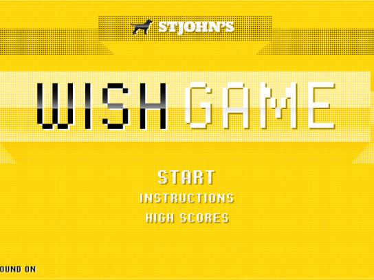 St John's Digital Ad -  WishGame