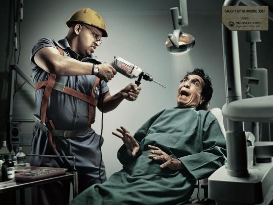 Wrong job, Dentist