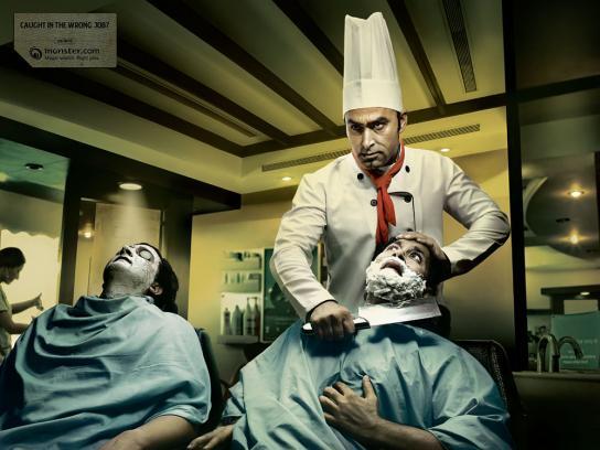 Wrong job, Barber