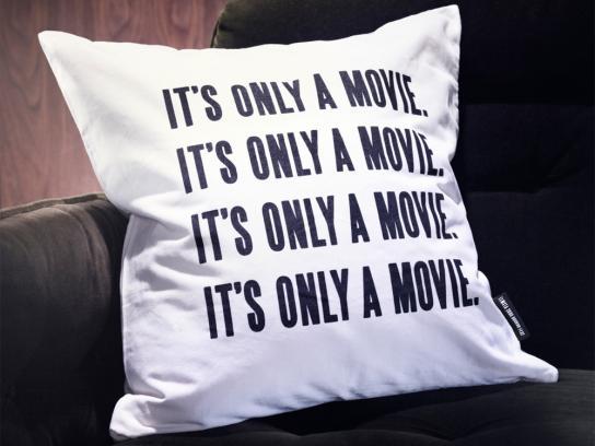 Elmsta 3000 Horror Fest Direct Ad -  Pillow