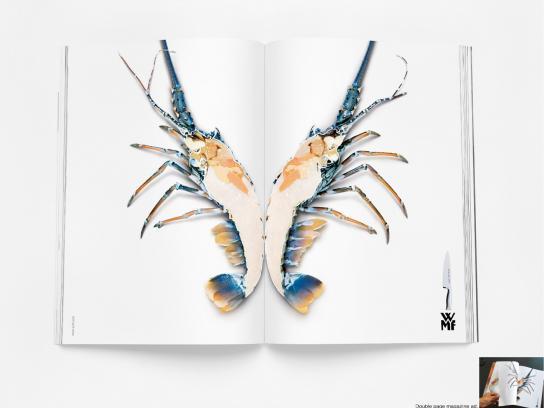WMF Print Ad -  Lobster