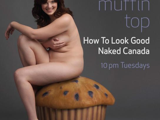 W Network Print Ad -  Muffin