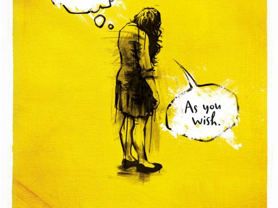 Amnesty International Print Ad -  Woman