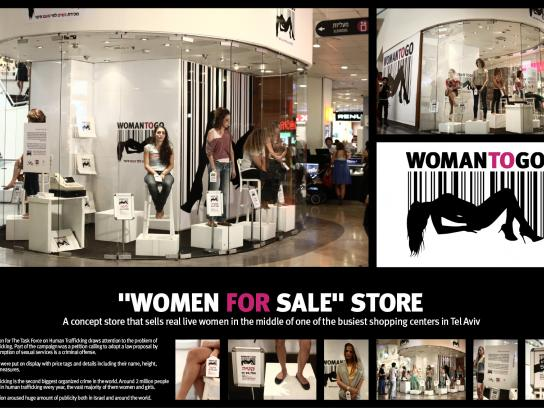 Atzum Ambient Ad -  Women to go