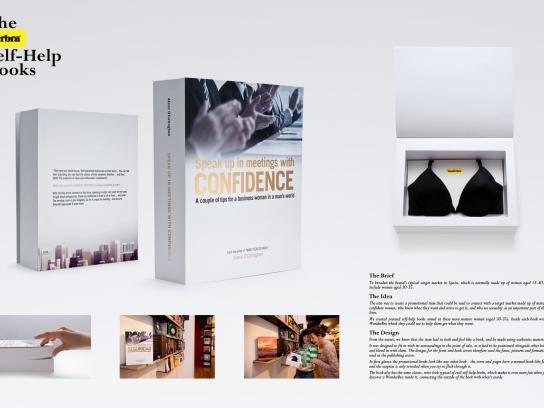 Wonderbra Direct Ad -  Self-Help Books, Business