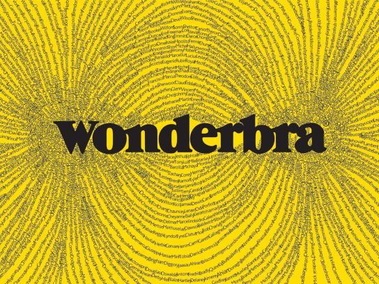 Wonderbra Print Ad -  Magnet