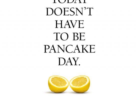 Wonderbra Print Ad -  Pancake Day