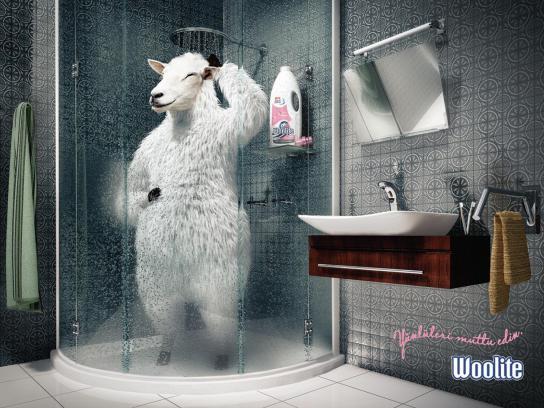 Woolite Print Ad -  Sheep